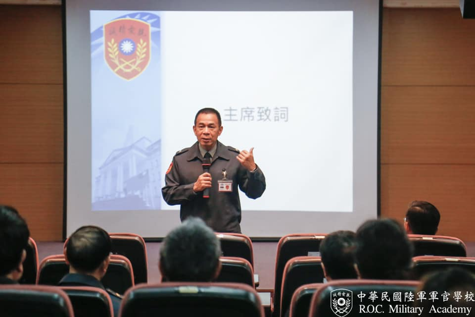 The superintendent, Major General Chen hosted the training workshop